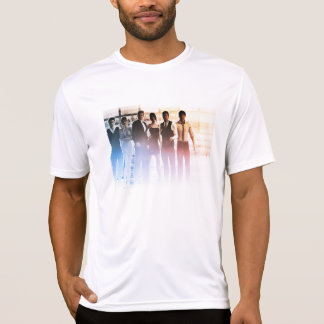 Business People Background as a Group Smiling T-Shirt