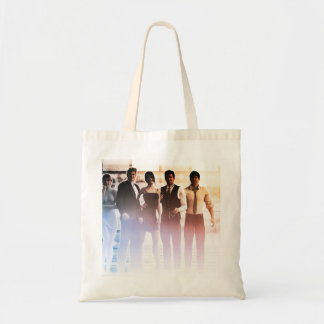 Business People Background as a Group Smiling Tote Bag