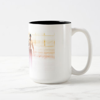 Business People Background as a Group Smiling Two-Tone Coffee Mug