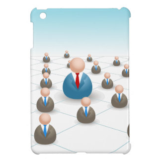 Business People Communication Network iPad Mini Cases