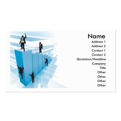business people design business cards
