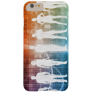 Business People Standing in a Row Confident Barely There iPhone 6 Plus Case