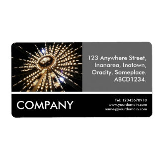 Business Photo - Big Wheel Shipping Label