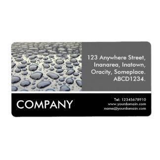 Business Photo - Car Hood Custom Shipping Label