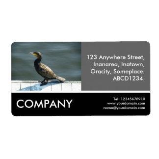 Business Photo - Cormorant Custom Shipping Label