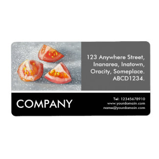 Business Photo - Sea Salted Tomato Eighths (painti Shipping Label