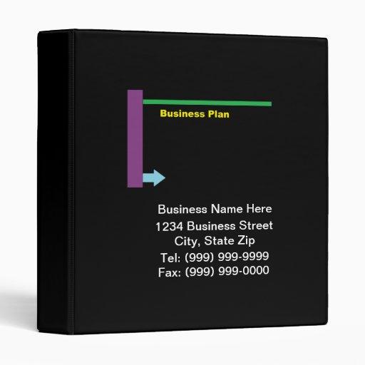business plan binder