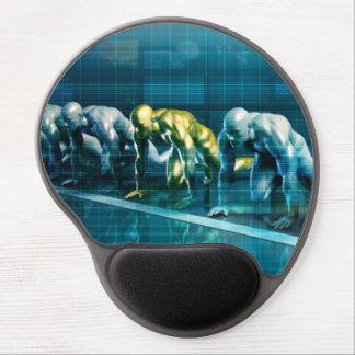 Business Planning with a Team Ready to Race Gel Mouse Pad
