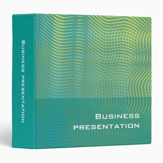 Business presentation - Binder