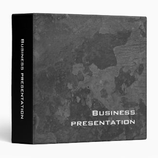 Business Presentation | Gray Wall Binder