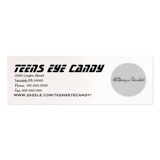 Business Product Templates Double-Sided Mini Business Cards (Pack Of 20)
