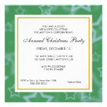 Business Professional Christmas Party Announcement