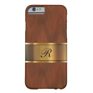 Business Professional Monogram Barely There iPhone 6 Case