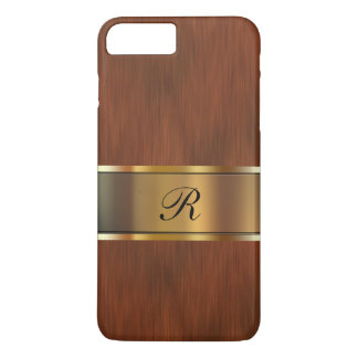 Business Professional Monogram iPhone 7 Plus Case
