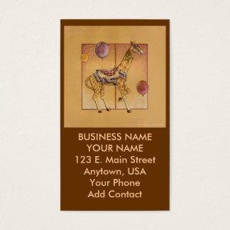 Business - Profile Card - Carousel Giraffe