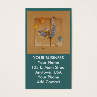 Business - Profile Card - Carousel Ostrich