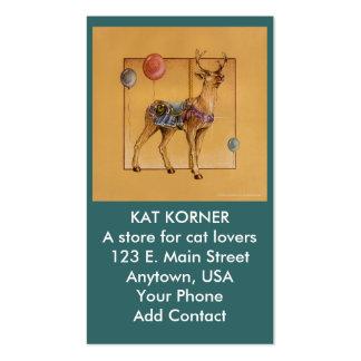 Business - Profile Card - Carousel Reindeer or Elk