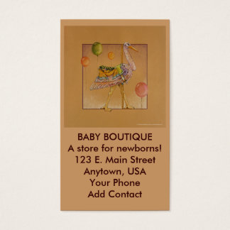 Business - Profile Card - Carousel Stork