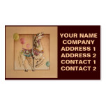Business - Profile Card - Happy Horse Carousel Business Card