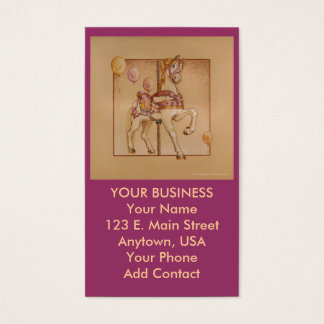 Business - Profile Card - Purple Pony Carousel