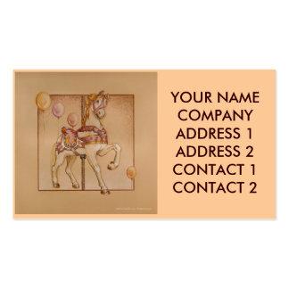 Business - Profile Card - Purple Pony Carousel Business Card