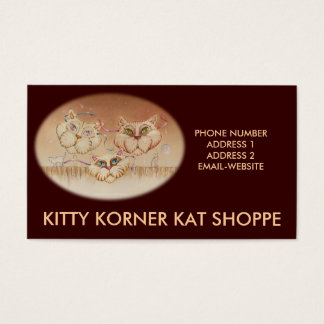 Business - Profile Card - Tabby Road