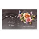 Business Profile Card Vintage Pink Roses 2 Business Cards