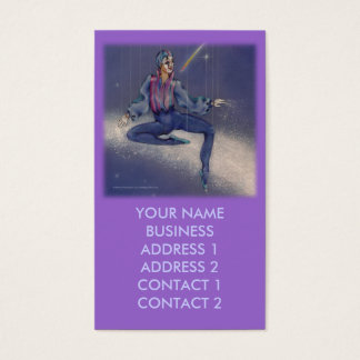 Business Profile Cards - Cosmic Mime (sq)