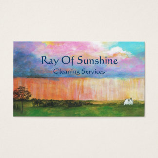 Business Profile Cards From Original Painting