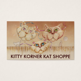 Business - Profile Cards, Tabby Road (cats) Business Card