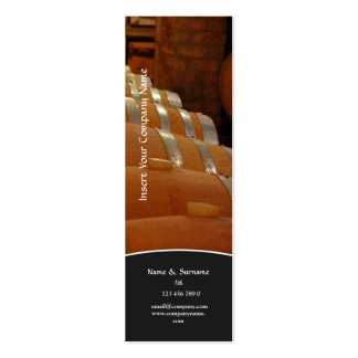 Business profile winery cellar vineyard grape business card templates