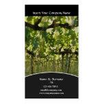 Business profile Winery vineyard grape Business Card Template