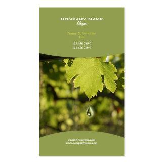 Business profile winery vineyard grape wine business card templates