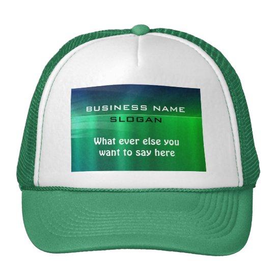 Business Promotional Cap - Shiny Metallic Look
