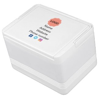Business promotional cooler