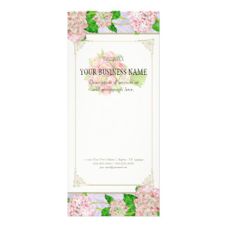Business Rate Card - Rose Hydrangea Florist Floral