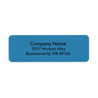 Business Return Address Label