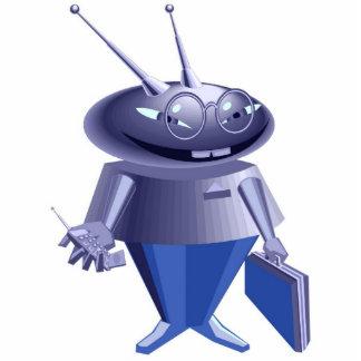 Business Robot Statuette