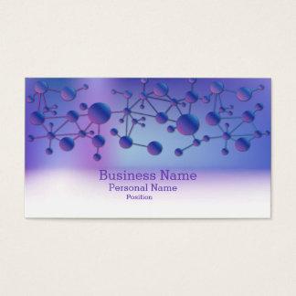 Business  Science Laboratory Elegant Modern Business Card