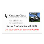 Business Service Card Double-Sided Standard Business Cards (Pack Of 100)