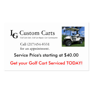 Business Service Card Business Card