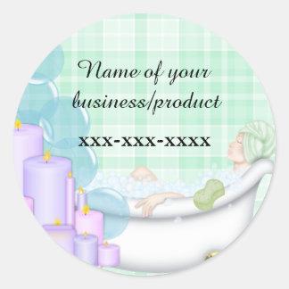 business spa sticker