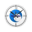 Business Sport Logo Template Round Clock