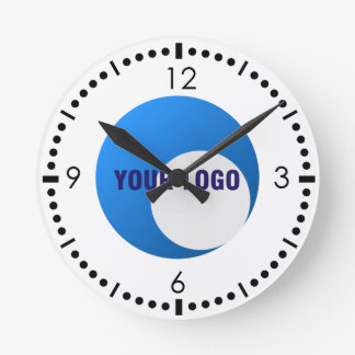 Business Sport Logo Template Round Clock