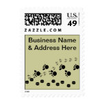 Business Stamps Hoofs & Tracks Personalize Promote