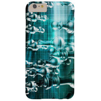 Business Strategy with a Chess Board Concept Barely There iPhone 6 Plus Case