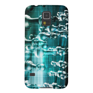 Business Strategy with a Chess Board Concept Galaxy S5 Cover