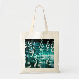 Business Strategy with a Chess Board Concept Tote Bag