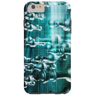 Business Strategy with a Chess Board Concept Tough iPhone 6 Plus Case