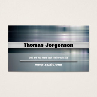 business style business card